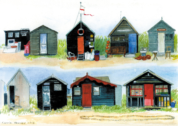 Fishermen's Huts, Southwold