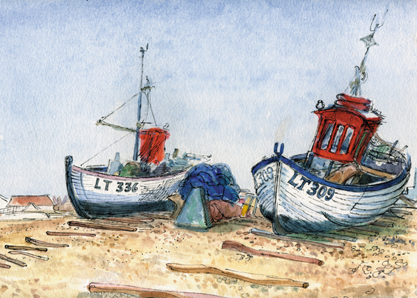 Fishing Boats, Aldeburgh (I)