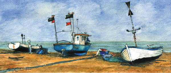Fishing Boats, Aldeburgh (II)